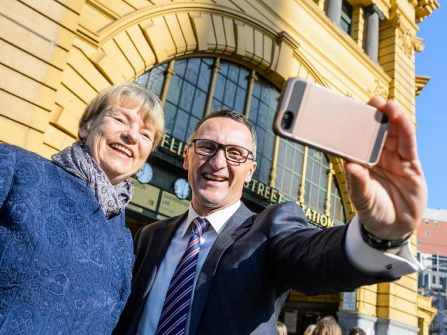 Richard Di Natale and Janet Rice